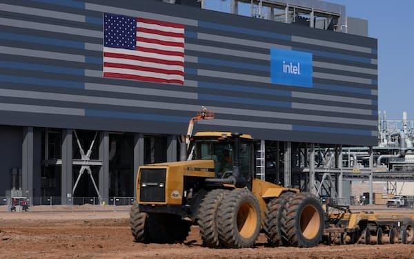 インテルが9月に着工した米アリゾナ州の新工場