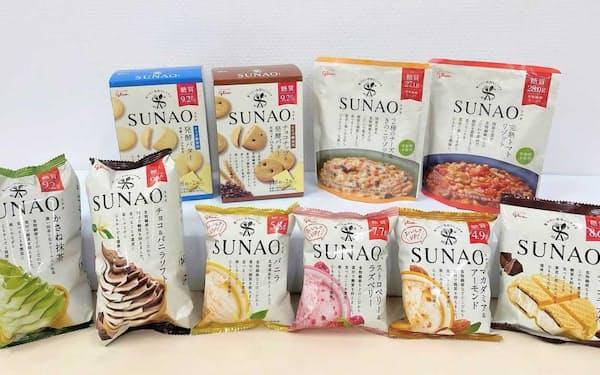 適正糖質に着目して開発したアイス「SUNAO(スナオ)」は幅広い商品群へ育った