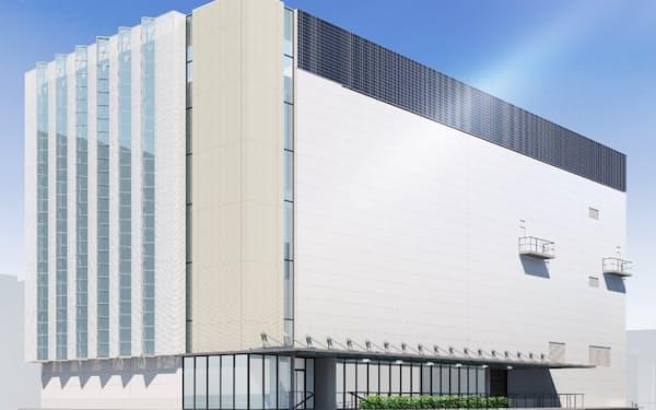 中外製薬が建設するバイオ原薬の製造棟(イメージ)