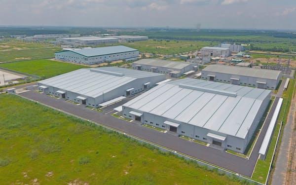 大阪ガスや双日などは、ベトナムの工業団地に太陽光発電を設置する