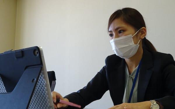 足利銀行で人材紹介事業を担当している川又聡美さん