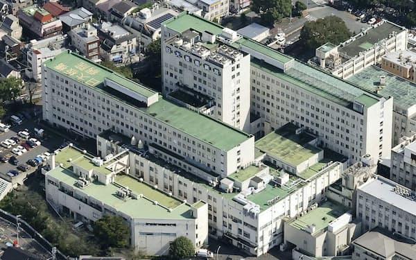 日本大学の医学部付属板橋病院(9月、東京都板橋区)=共同