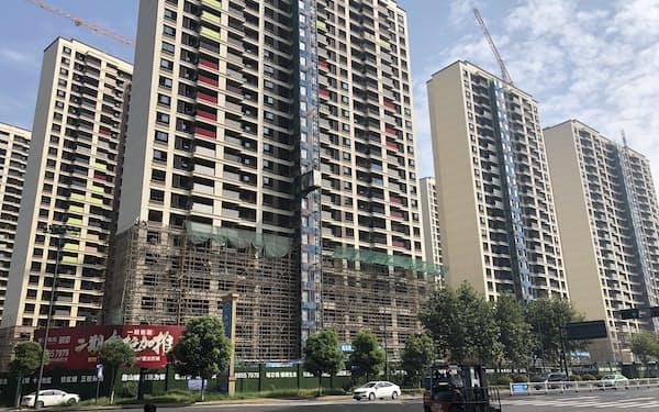 中国ではマンション価格の高騰に、庶民が不満を高めていた(江蘇省常州市)