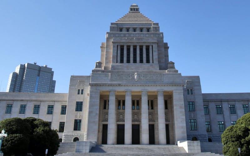 国会議事堂(2012年12月14日、東京・永田町)