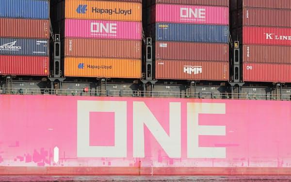 コンテナ船運賃の一段高を受けて共同出資会社「ONE」の業績拡大が続く=ロイター