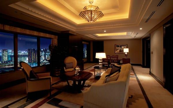 リゾートトラストでは高価格帯の「東京ベイコート倶楽部」が人気