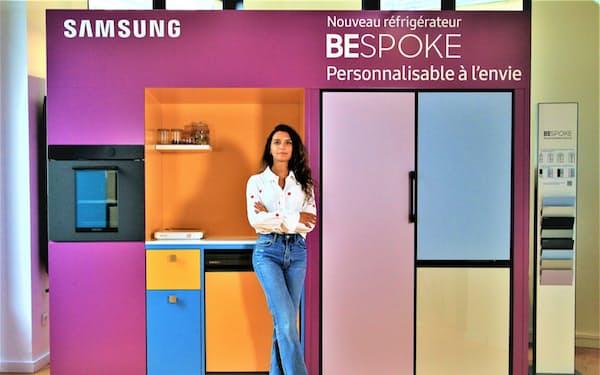 デザインを選べる家電ブランド「ビスポーク」シリーズは20~30代に人気だ