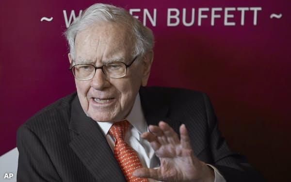 バフェット氏率いるバークシャー・ハザウェイは日本の5大商社株を20年8月にかけて大量取得した=AP