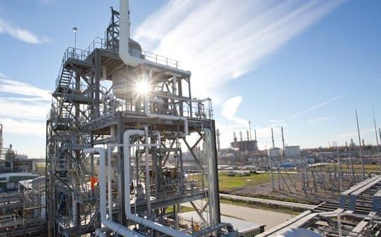 北米の塩ビ事業が業績をけん引する(ルイジアナ州の拠点)
