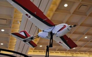 プレシジョンホーク製の固定翼ドローン
