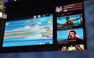 コムキャストはクラウド型ケーブルサービス「X1プラットフォーム」でのリオ五輪への対応をアピールした