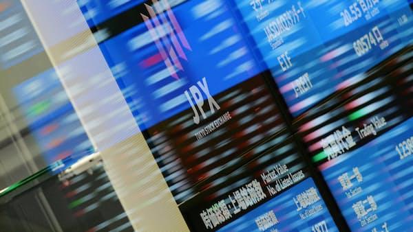 東証寄り付き 続落 米株安で、SBGなど値がさ株が軟調