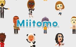 任天堂のスマートデバイス(iOS/Android)向けアプリ「Miitomo」(無料、App内課金あり)。対象年齢は13歳以上