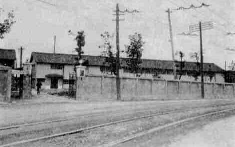 筆者が通った「丸松」の工場