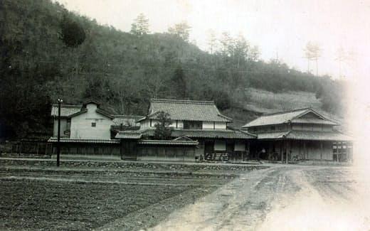 上郡の疎開先の家