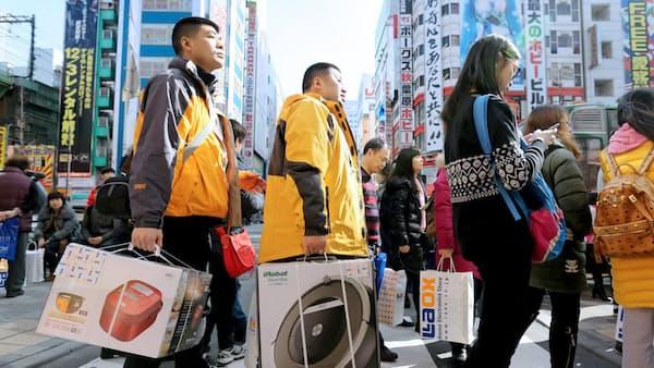 18年の訪日客消費4兆5000億円 「爆買い後」に課題