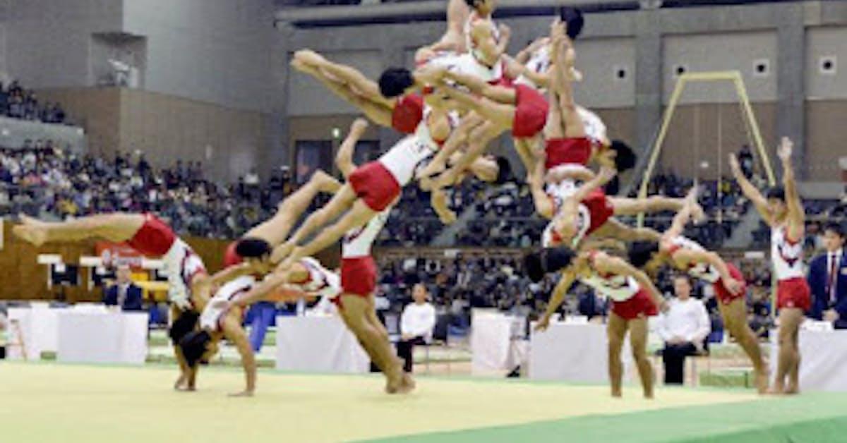 白井「超ひねり」も自動採点 体操、目視限界への挑戦: 日本経済新聞