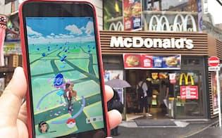 世界各地で話題を呼んでいる「ポケモンGO」の配信が日本でも始まった。ファストフードのマクドナルドも、実店舗でポケモンGOとのコラボレーションを実施する