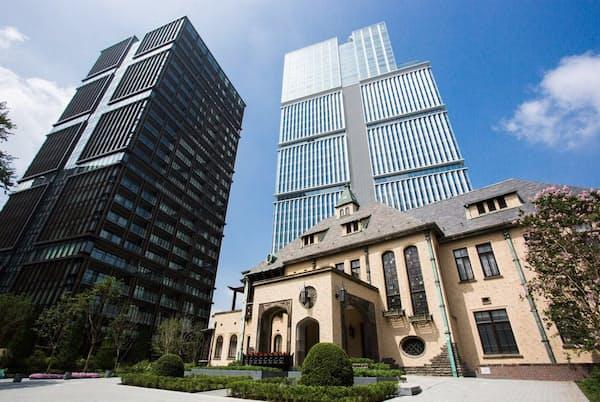 旧「赤プリ」跡地にグランドオープンした東京ガーデンテラス紀尾井町