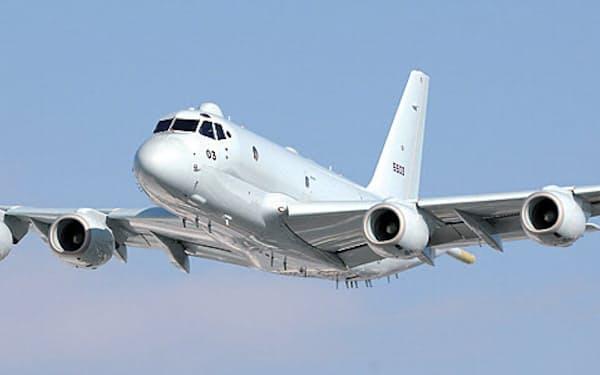 川崎重工業の哨戒機「P-1」。「長期一括契約」で50年ぶり首位交代した
