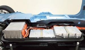 図2 オートモーティブエナジーサプライ(AESC)のLiイオン2次電池モジュール