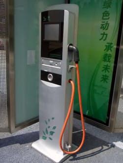 図9 国家電網が開発したV2G対応の急速充電スタンド