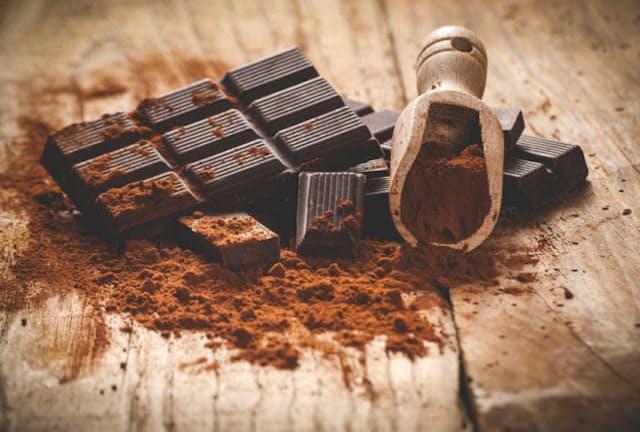 チョコレートを食べるときには、ぜひカカオの含有量にも注目したい(c)Jaroslaw Pawlak 123-rf