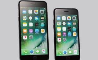 米アップルの「iPhone 7」「同7 Plus」