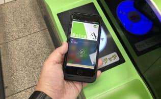ついにiPhoneで自動改札が通過できるようになった