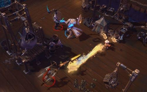 eスポーツで使われるゲーム「Heroes of the Storm」の画面(出典:Blizzard Entertainment)