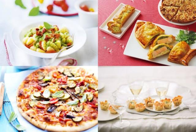 ニョッキ、サーモンのパイなど、日本の冷凍食品にはないような商品が多いピカール。レンジではなくオーブンを使って焼き上げるなど、日本とは違う特徴が多くみられる