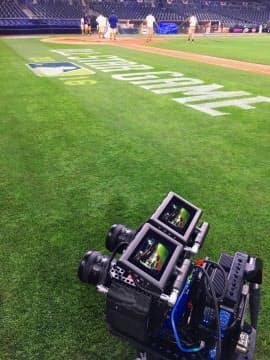 米MLBの2016年オールスターゲームでの撮影の様子(写真:NextVR)