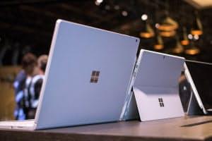 マイクロソフト製のパソコン「サーフェス」の売れ行きが米国で絶好調だ