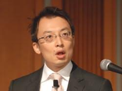 写真1 アマゾン ジャパン 代表取締役社長 ジャスパー・チャン氏(写真:皆木優子)