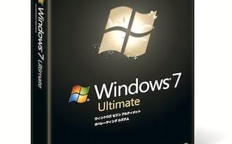 「Windows 7」のパッケージ