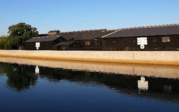 ミツカン本社のある愛知県半田市には昔からの建物が今も残る