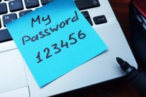 1000万のパスワードを調べたところ、最も使われていたのは「123456」だった(C)designer491/Shutterstock