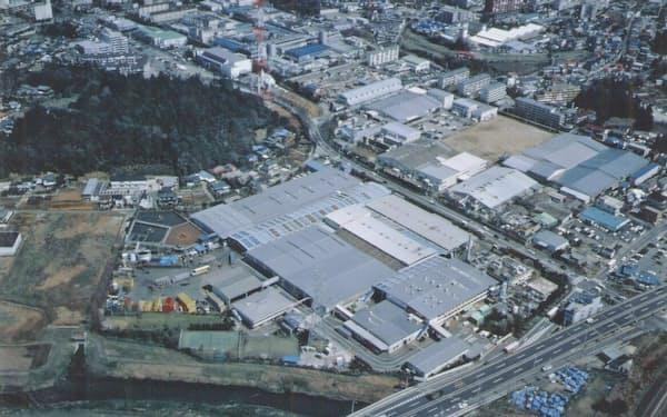 柏工場(千葉県)は80年代後半、缶コーヒーの主力工場だった