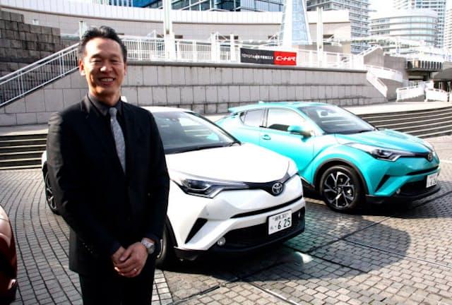 大ヒット中の「C-HR」の開発をリードしたトヨタの古場博之エンジニア。「この車はすぐに売れなくなるんですよ」という真意は?
