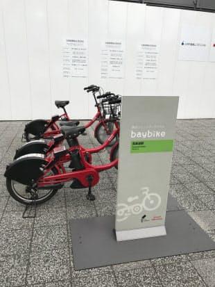 図2 横浜市内の自転車ポート