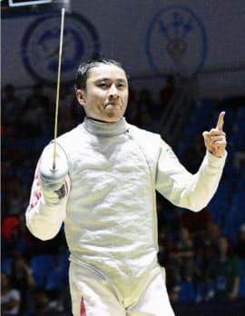 フェンシング界のレジェンドである太田雄貴氏。北京五輪のフルーレ個人で銀メダル、ロンドン五輪のフルーレ団体で銀メダルを獲得。2016年のリオデジャネイロ五輪後に現役を引退=共同