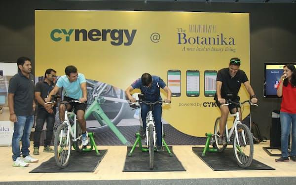 インドでもサイクルイベントに参加する人が増えてきた(2月、ハイデラバード)=Cykul社提供