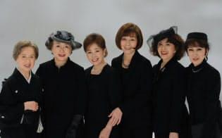 「やすらぎの郷」に出演している女性陣。左から八千草薫、有馬稲子、五月みどり、野際陽子、加賀まりこ、浅丘ルリ子