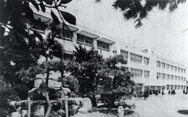 1980年代初めの橘学苑