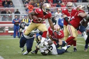 サンフランシスコ49ersの試合の様子(写真:NFL)