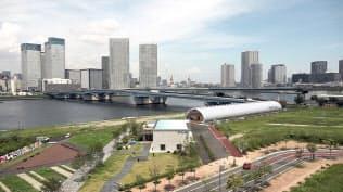 個性的な施設が増えた豊洲埠頭(東京都江東区)