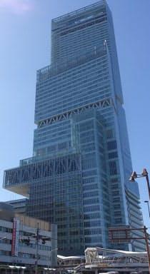 2014年に3月に全面開業した大阪市阿倍野区の「あべのハルカス」で、最大規模の仮想地域通貨実験がスタートした