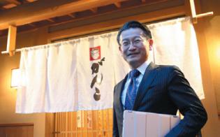 がんこフードサービスの店舗のデジタル化を推進する新村猛副社長(写真:陶山勉)