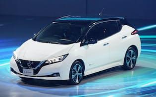日産自動車は電気自動車(EV)の「リーフ」をフルモデルチェンジした