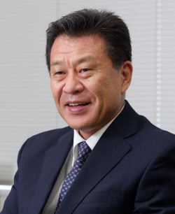 日清紡ホールディングス 常務執行役員の木島利裕氏(撮影:新関雅士)